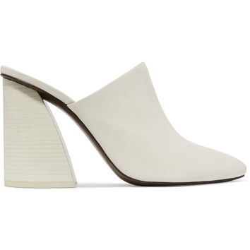 Mercedes Castillo - Abia textured-leather mules