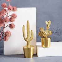 Brass Cactus Objects