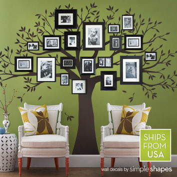 Family Tree Decal for Home and Baby Nursery
