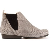Tracey Neuls 'Axel' snakeskin effect chelsea boots