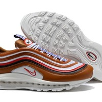 Nike Air Max 97 Blue White Red Running Shoes