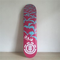 "Element Batman 7.5"" Canadian Maple Purple Skateboard Deck"