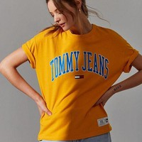 Tommy Jeans Women's Fashion College T-Shirt F