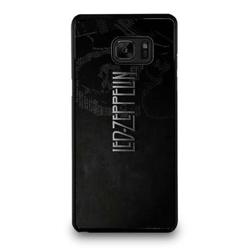 LED ZEPPELIN LYRIC Samsung Galaxy Note 7 Case Cover