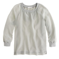 SILK SWEATSHIRT