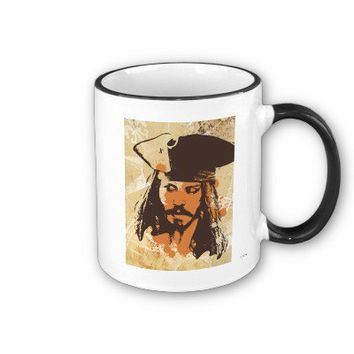 Pirates of the Caribbean Jack Sparrow graphic Coffee Mugs from Zazzle.com