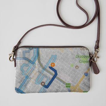 Midtowm Map Purse