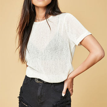 MinkPink Textured T-Shirt at PacSun.com