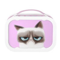 Funny Angry Cat Lunchbox