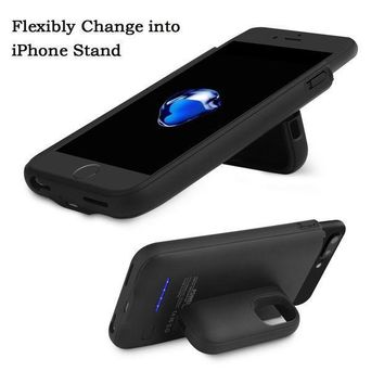 Iphone 7 Plus/6 Plus Battery Charger Case 4200mah Portable Cover Charger