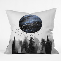 Elisabeth Fredriksson Nature Throw Pillow