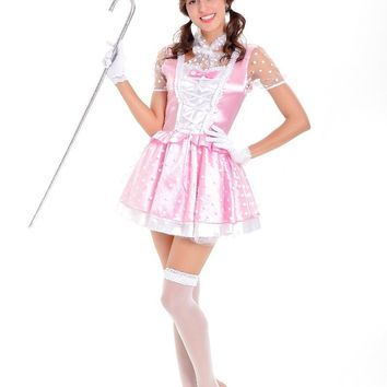 French Maid Pink Costume