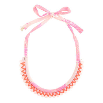 crewcuts Girls Printed Rope Beaded Necklace