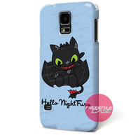 Hello Night Fury-Dragon Samsung Galaxy Case Cover Series