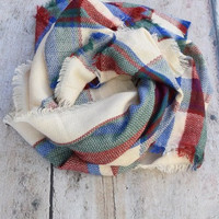 Blustery Day Blanket Scarf