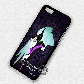 Maleficent Diaval Quote - iPhone 7 Plus 6 5 4 Cases & Covers