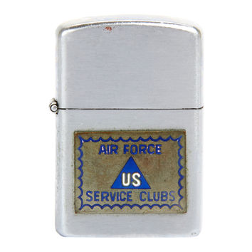 US Air Force Zippo Style Lighter Circa 1950 Korean War Era