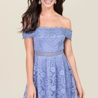Addie Crochet Lace A-line Dress
