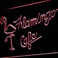Flamingo Cafe Neon Sign (LED)