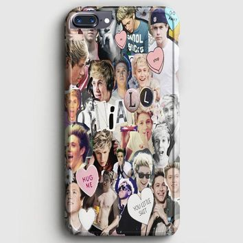 Niall Horan Heart Tshirt White iPhone 8 Plus Case | casescraft