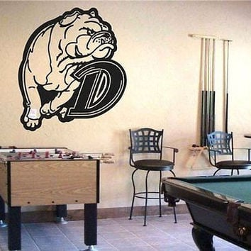 Drake Bulldogs NCAA Logo Emblem Wall Art Sticker Decal (S188)