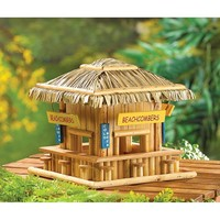 Beach Hangout Birdhouse Garden Decor
