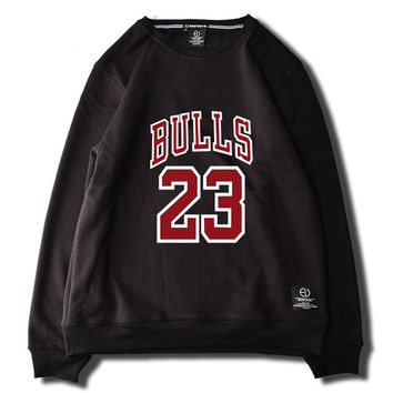 Michael Jordan Chicago Bulls 23 Fleece Black Green White Pink Grey Sweatshirt Mens Womens Winter Classic Cotton Casual Fitness Sweater