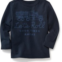 Old Navy Long Sleeve Graphic Tee