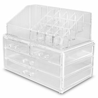 Ultimate Acrylic Makeup Organizer | Makeup Storage| BH Cosmetics!