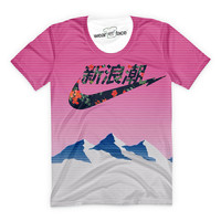 Mountain Top Vaporwave T-Shirt