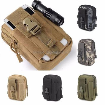 Tactical Military Holster Hip Waist Belt Moblle Bag