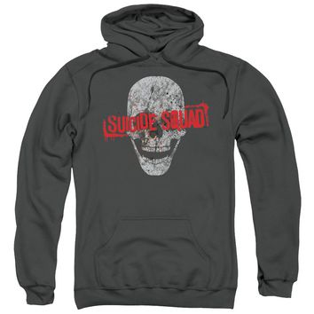 Suicide Squad - Skull Adult Pull Over Hoodie