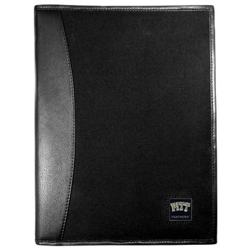 PITT Panthers Leather and Canvas Padfolio CPAD82