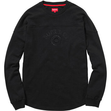 Supreme: Seal L/S Top - Black