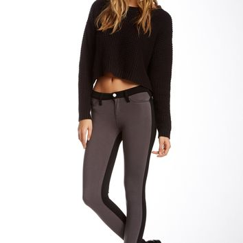 Tractr Jeans | Contrast Panel Fitted Pant (Juniors) | Nordstrom Rack