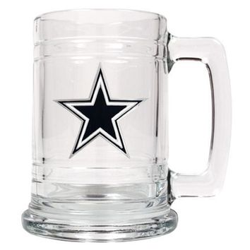 Customizable NFL Emblem Mug - Dallas Cowboys