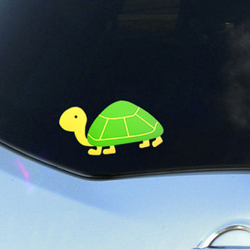 Turtle Vinyl Sticker for Car or laptop