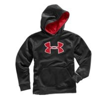 Under Armour Boys Armour® Fleece Storm Big Logo Pullover Hoodie