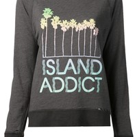 Wildfox 'Island Addict' Destroyed Sweater