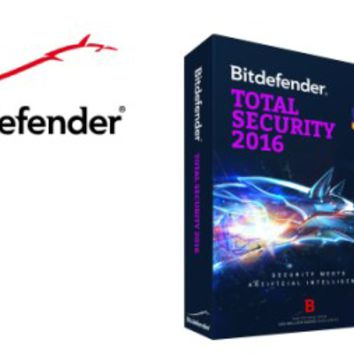 Bitdefender Total Security 2016 License Key 100% Working