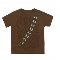 Star Wars I Am Chewbacca Todlers Brown Costume T-Shirt - Star Wars - | TV Store Online