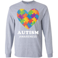 Autism-awareness  LS Ultra Cotton Tshirt