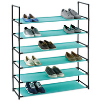 Studio 3B™ 6-Tier Fabric Storage Shoe Rack