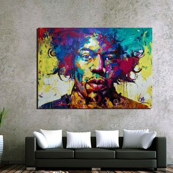 2016 Hotsell Unframed Colorful Oil Paints Wall Art Oil Painting Portrait Canvas Print Home Room Decoration Wall Picture Posters