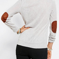Urban Outfitters - Glamorous Slub Elbow Patch Shirt