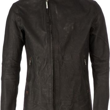 Isaac Sellam Experience distressed zip jacket
