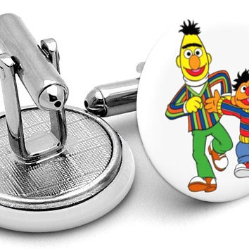 Bert and Ernie Cufflinks