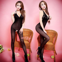 Sexy Lingerie hot Bodysuit Sexy Costumes Erotic lingerie Intimates Women Bodystocking open crotch sex products hose Chemises