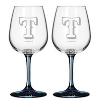 Texas Rangers 2-pc. Wine Glass Set (Rgr Team)