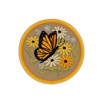 Butterfly Patch (Khaki)
